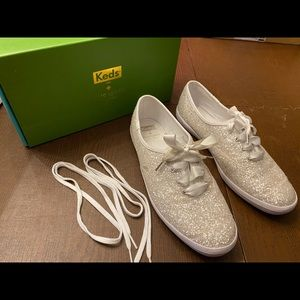 Keds for Kate Spade Champion Glitter Sneakers -9.5
